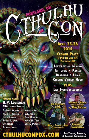 CthulhuCon PDX 2015 poster