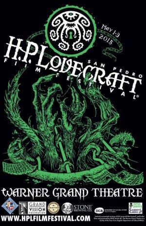 H.P. Lovecraft Film Festival - San Pedro 2015 Poster